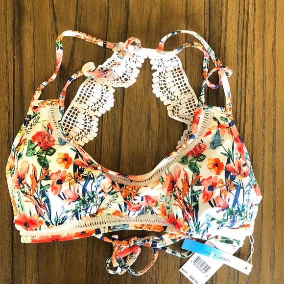7e5612249b8c2 Lucky Garden Bikini Top